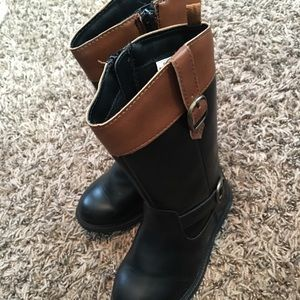 e374d4a29af5 Carter s Shoes - Toddler girls riding boots new black   brown